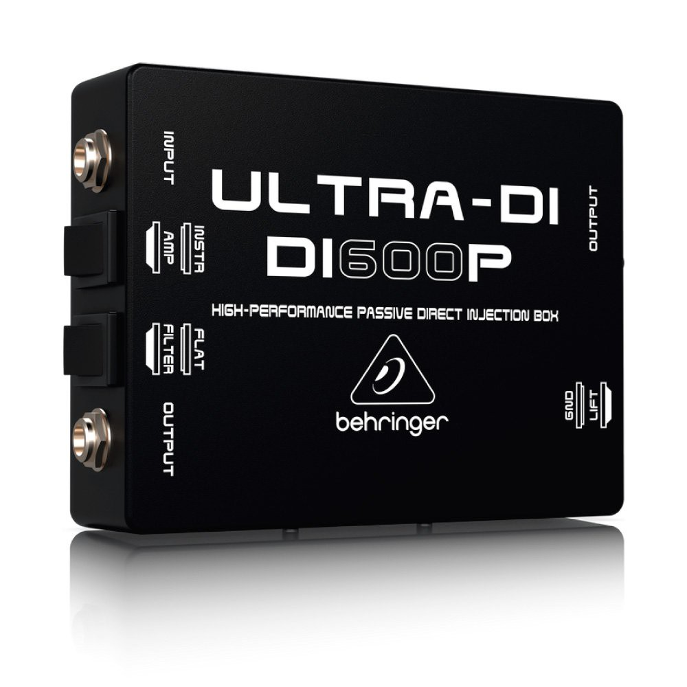 Direct Box Passivo DI600P Behringer