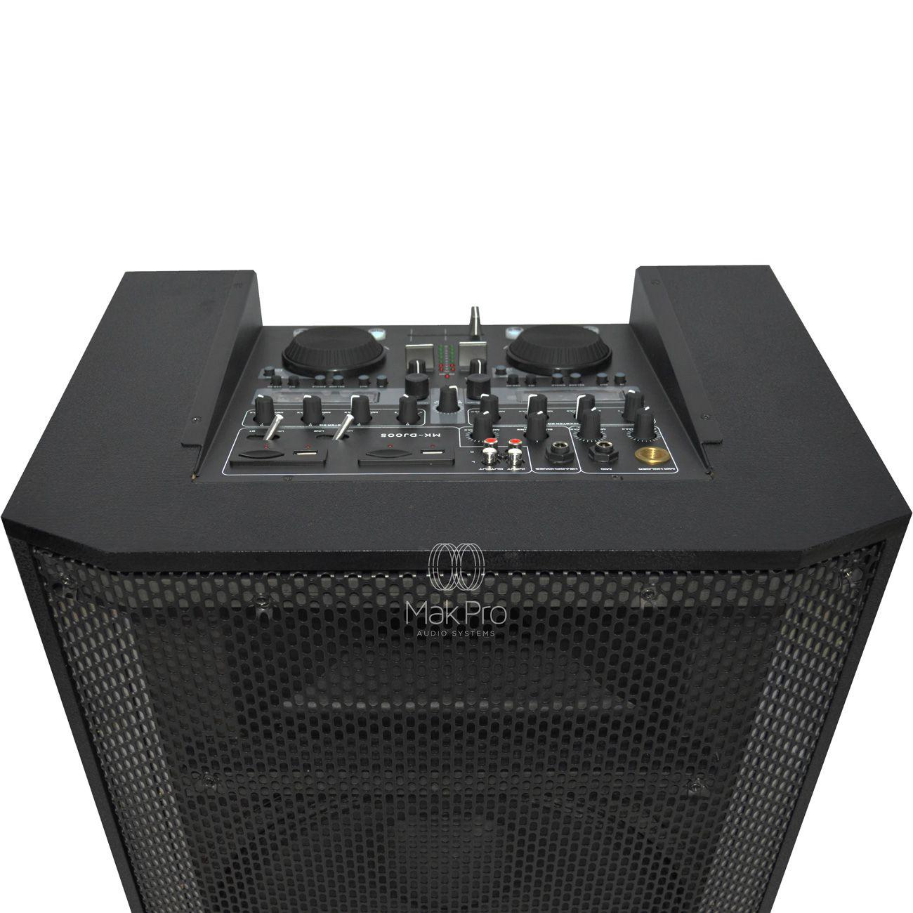 Caixa De Som Para Área De Festa Makpro 120w Rms - Seja Você o DJ