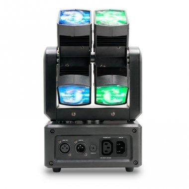 Eight Square - 8 Leds RGBW de 12W PLS