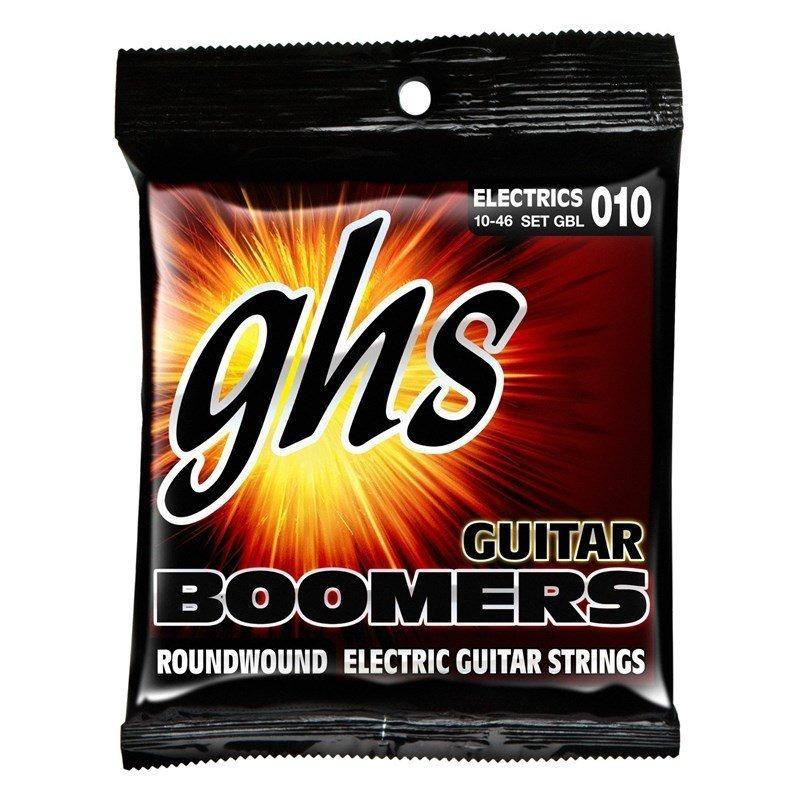Encordoamento GHS Boomers 10-46 - Cordas para Guitarra
