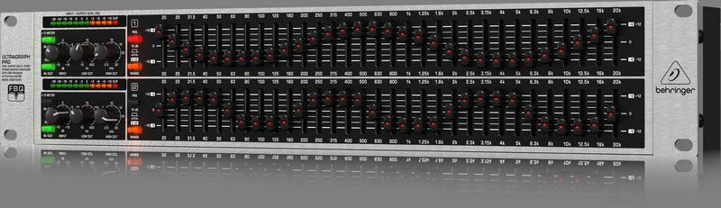 Equalizador FBQ3102HD Behringer Bivolt