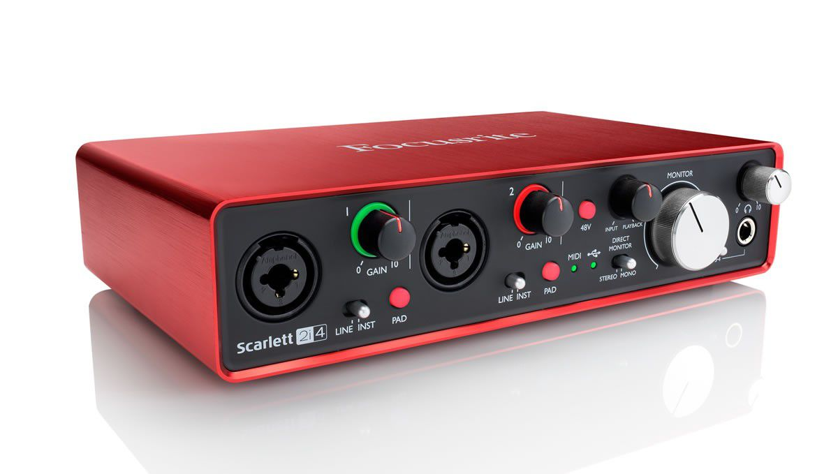 Interface de Áudio Focusrite Scarlett 2i4 (2nd Gen)