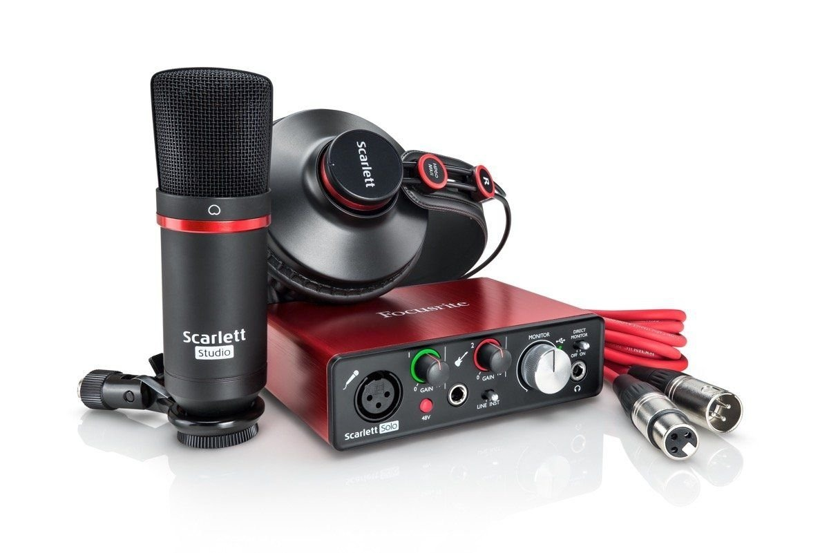 Focusrite Scarlett Solo Studio Pack Kit 2nd Gen