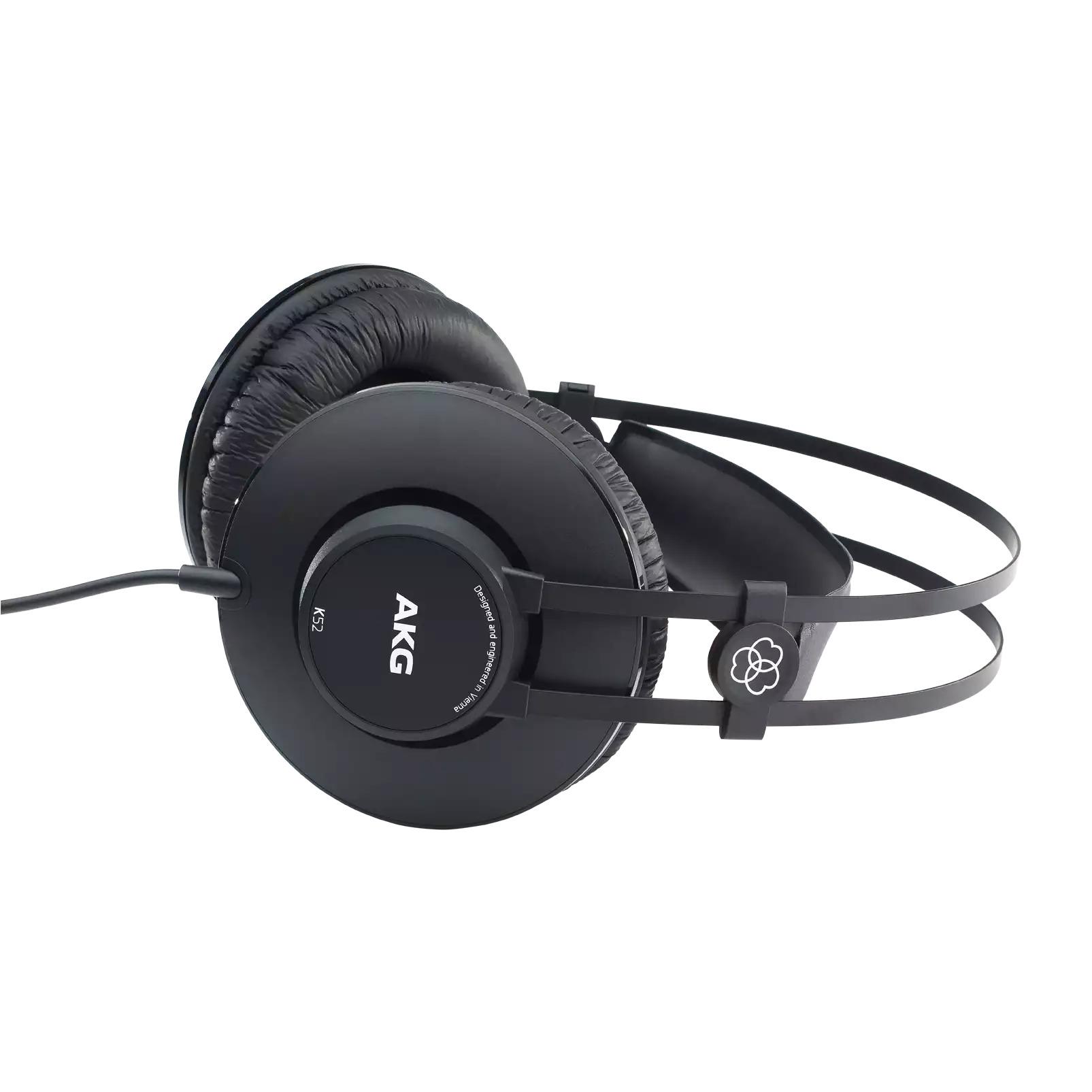 Fone de Ouvido AKG K52 Fechado Estilo Over Ear