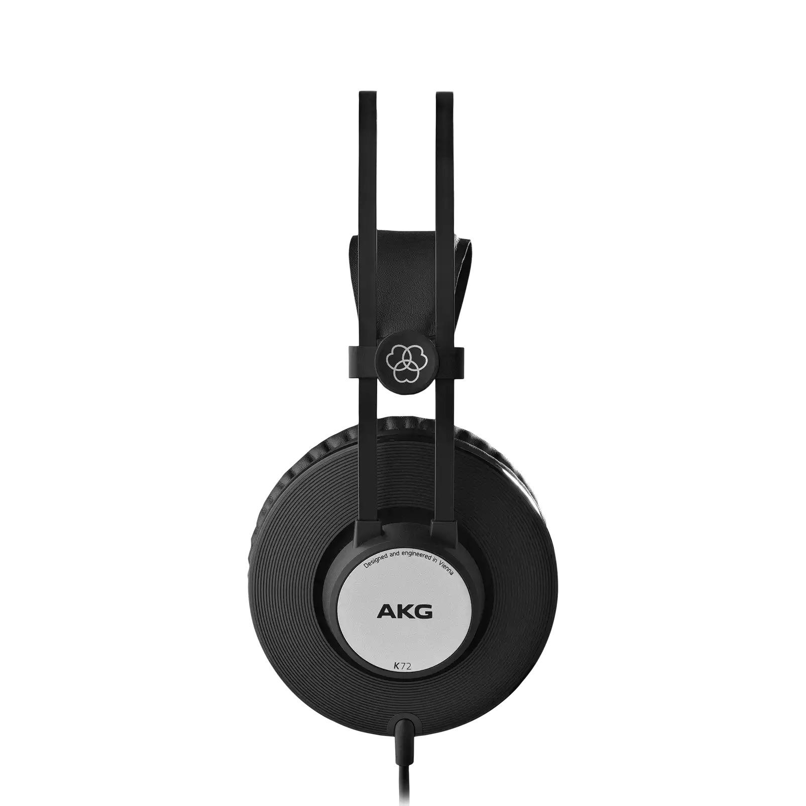 Fone de Ouvido AKG K72 Fechado Para Estúdio Estilo Over Ear