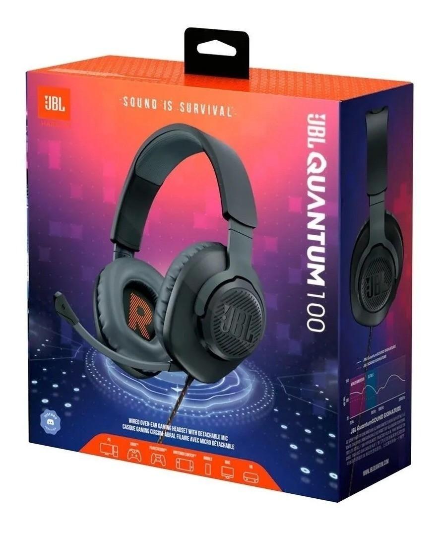 Fone de Ouvido Gamer JBL Quantum 100 Headset