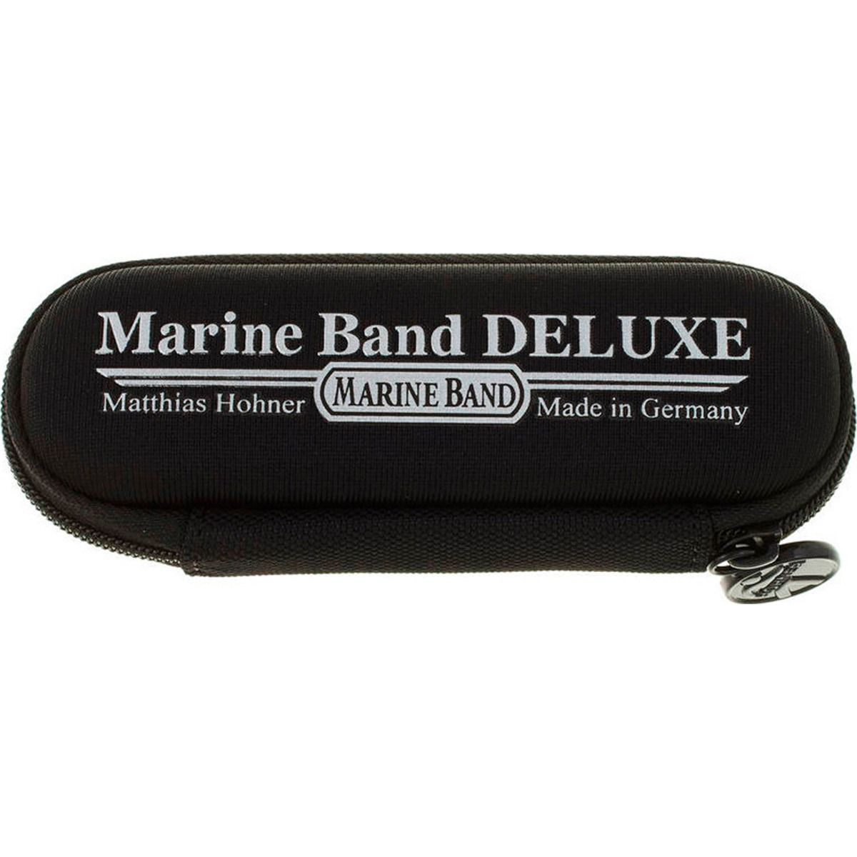Gaita Harmônica Marine Band Deluxe - C (Dó) - Hohner