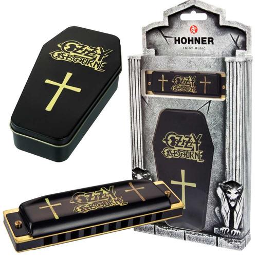 Gaita Hohner Ozzy Osbourne Harp C
