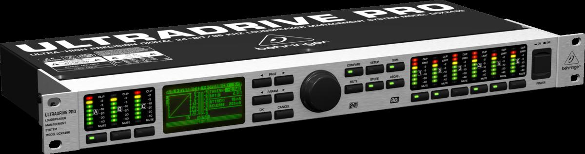 Gerenciador Ultradrive Pro DCX 2496 Behringer Bivolt