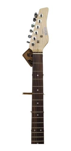 Guitarra Les Paul Newen Frizz Red Wood Vermelha