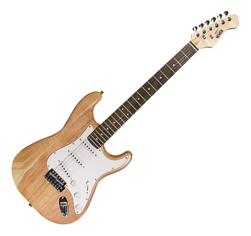 Guitarra Strato Newen ST Natural Wood Natural