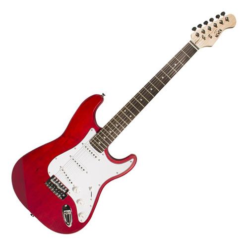 Guitarra Strato Newen ST Red Wood Vermelha