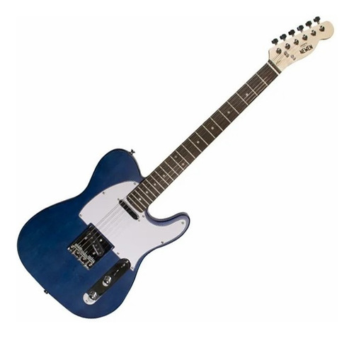 Guitarra Tele Newen TL Blue Wood Azul