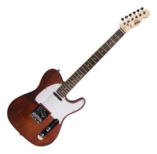 Guitarra Tele Newen TL Dark Natural Wood