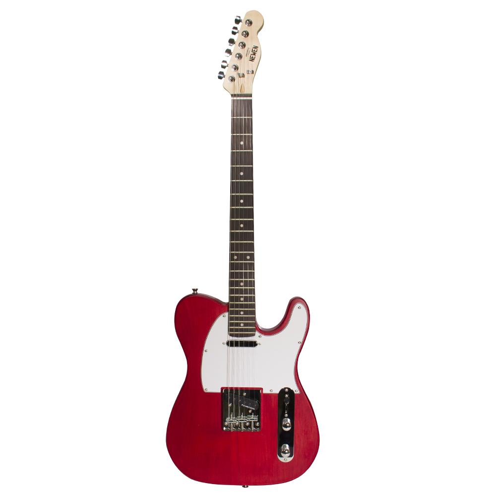 Guitarra Tele Newen TL Red Wood Vermelha