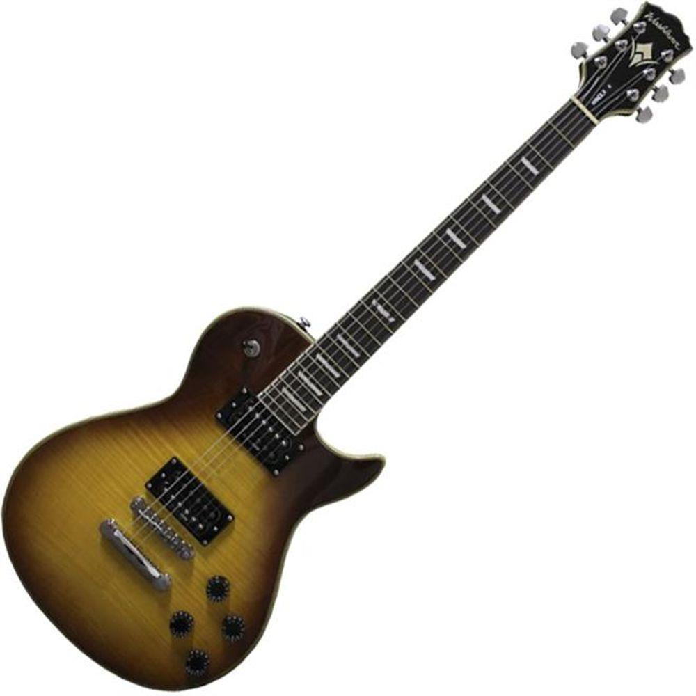 Guitarra Washburn Flame Honey Burst WINDLXFHB