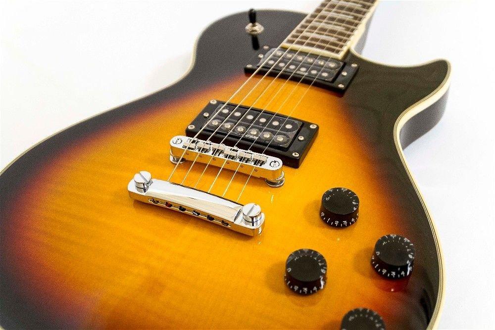 Guitarra Washburn Flame Vintage SunBurst WINDLXFVSB