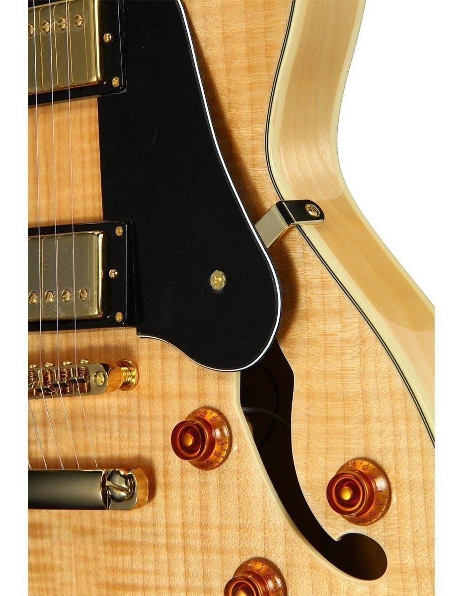 Guitarra Washburn HB35N Semi Acústica Natural S/ Case
