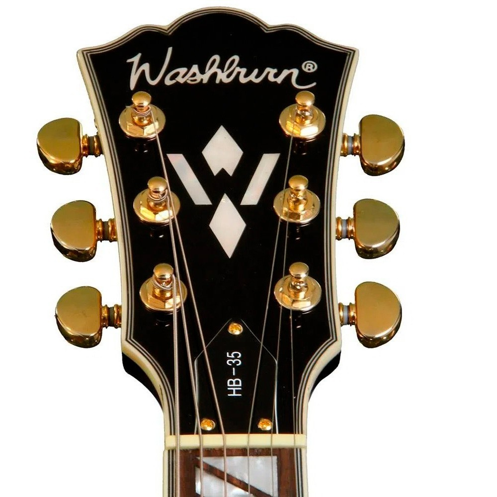 Guitarra Washburn HB35WR Semi Acústica Vintage Sem Case