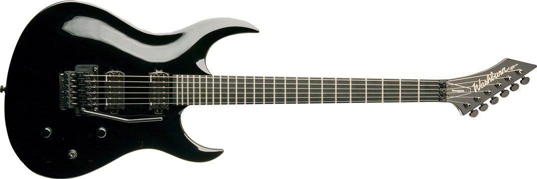 Guitarra Washburn WM24VB Preta Com Bag