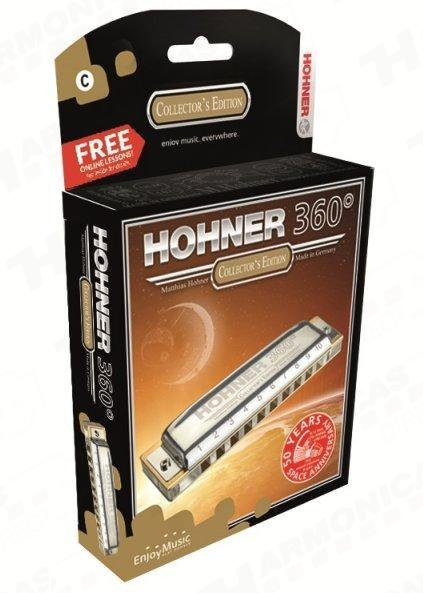 Harmônica 360 Box M55016 Hohner