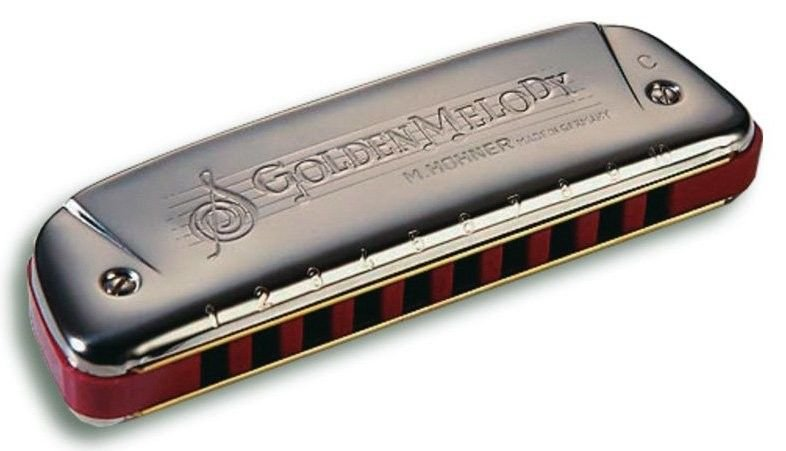 Harmônica Golden Melody 542/20 - A (LA) - Hohner