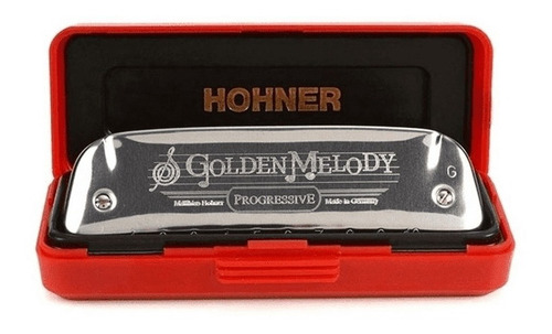 Harmônica Golden Melody 542/20 - G (SOL) - Hohner
