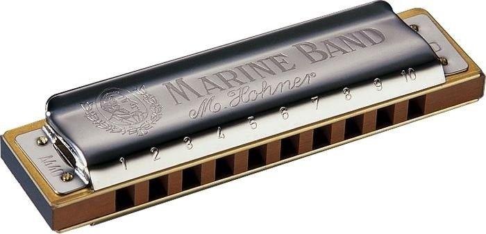 Harmônica Marine Band 1896/20 - B (SI) - Hohner