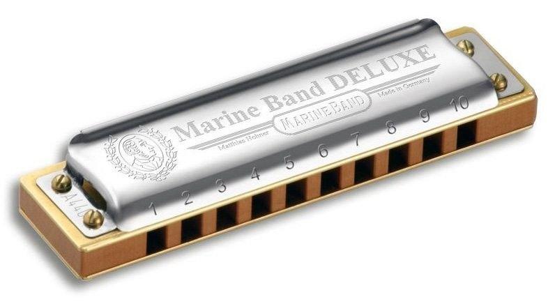 Harmônica Marine Band Deluxe 2005/20 - F (FA) - Hohner