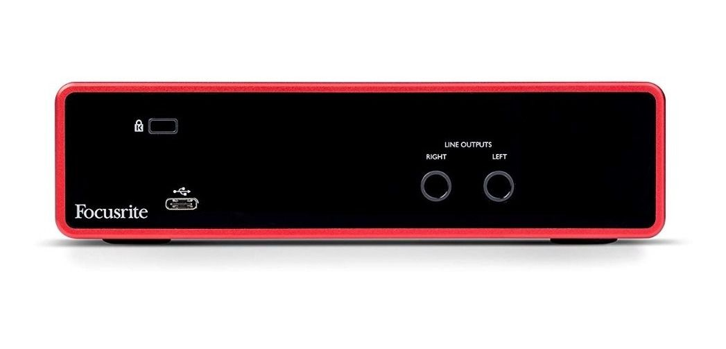 Interface de Áudio Focusrite Scarlett 2i2 (3nd Gen)