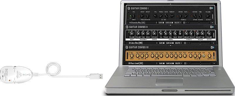 Interface de Conexão para Guitarra UCG102 Behringer