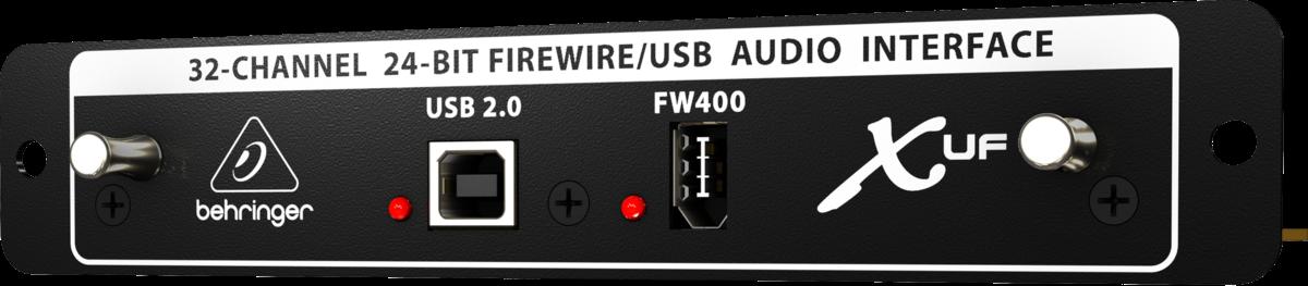Interface Firewire Para x32 Behringer