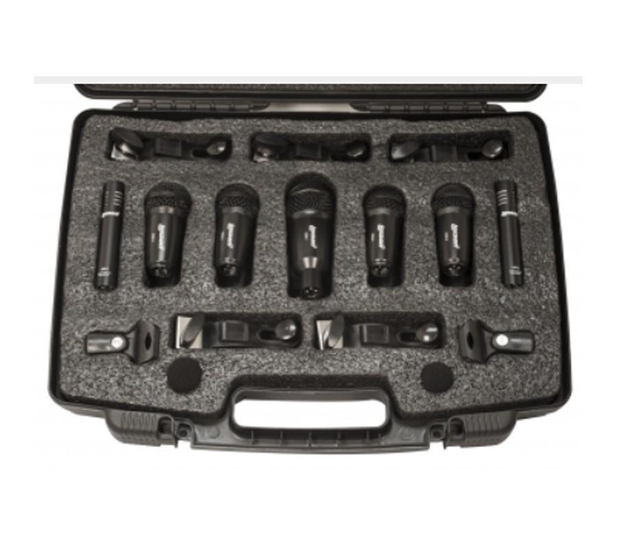 Kit de Microfones para Bateria LDK-7 Lexsen