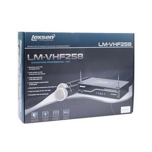Microfone sem Fio Duplo Lexsen LM-VHF258