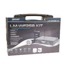 Microfone sem Fio Bastão Headset e Lapela Lexsen LM-WF258 KIT