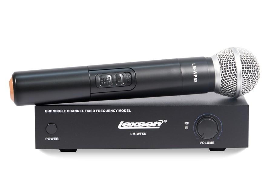 Microfone sem Fio Lexsen LM-WF58
