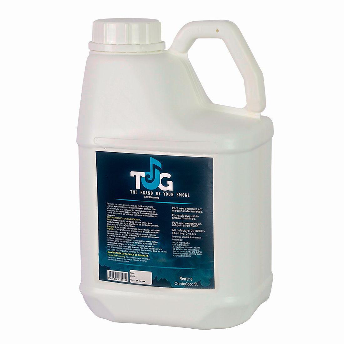 Líquido para Máquina de Fumaça TJG - Self Cleaning - Neutro 5L