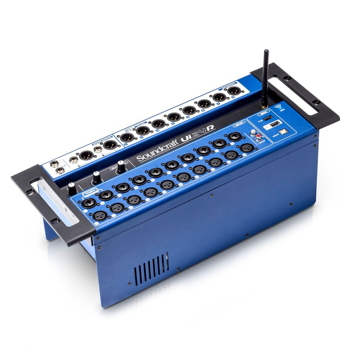 Mesa De Som Digital Soundcraft Ui 24R - Mixer Digital Wi-fi
