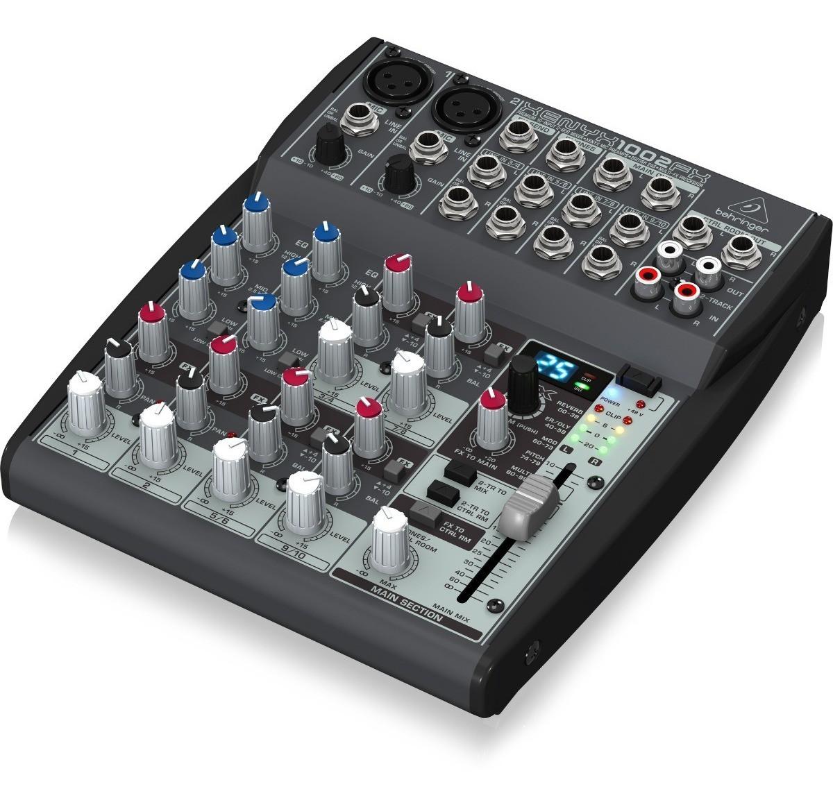 Mesa de Som Xenyx 1002FX Behringer - Mixer 110V