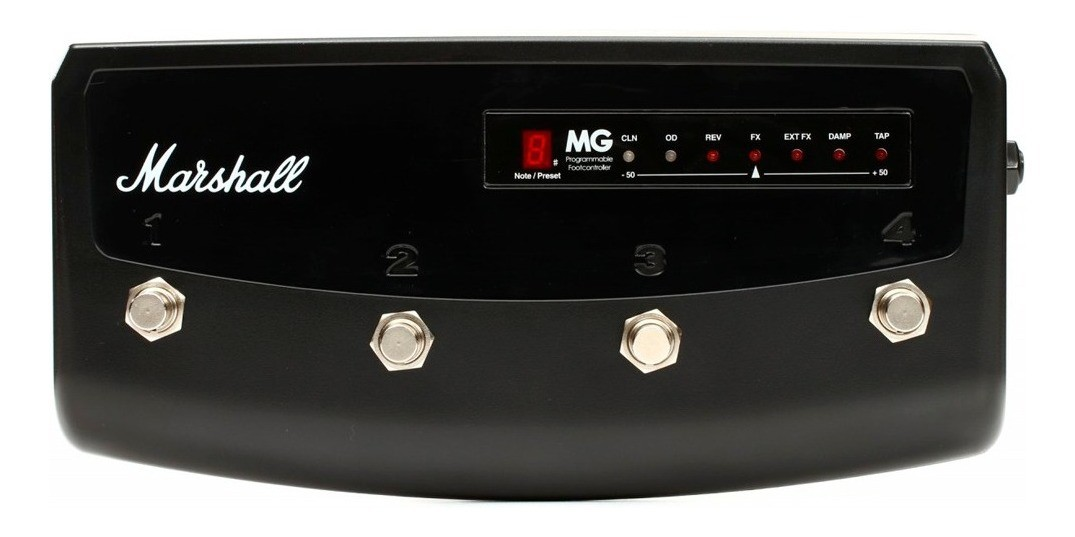 Pedal Footswitch MG4 PEDL-90008 Marshall P/ Linha MG