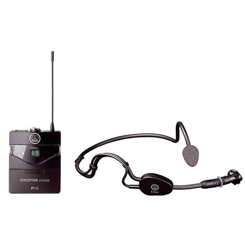 Microfone Akg Pw Sset A 45 Sport Headset Perception Sem Fio