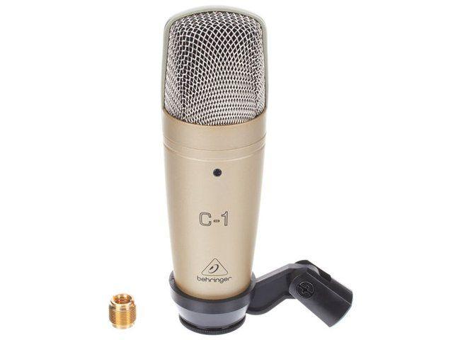 Microfone Condensador Behringer C1 Profissional + Maleta