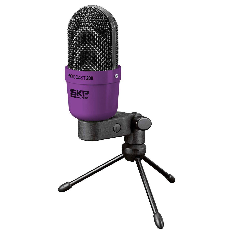 Microfone Podcast 200 SKP Condensador
