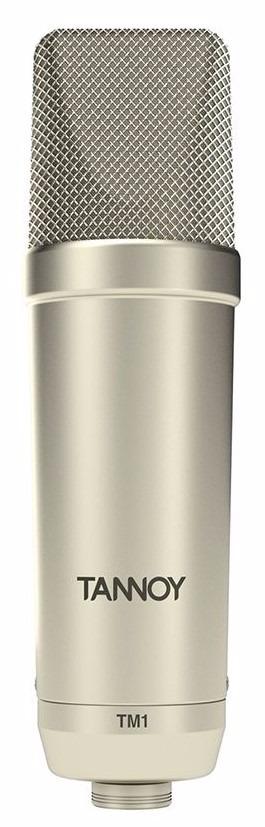 Microfone Condensador Para Estúdio Tm1 Tannoy Profissional