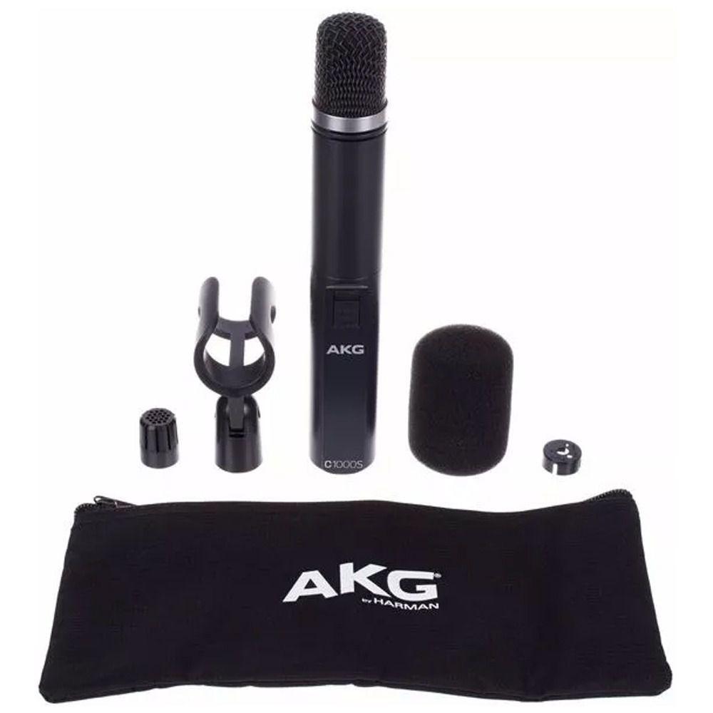 Microfone Condensador Profissional Akg C1000-S