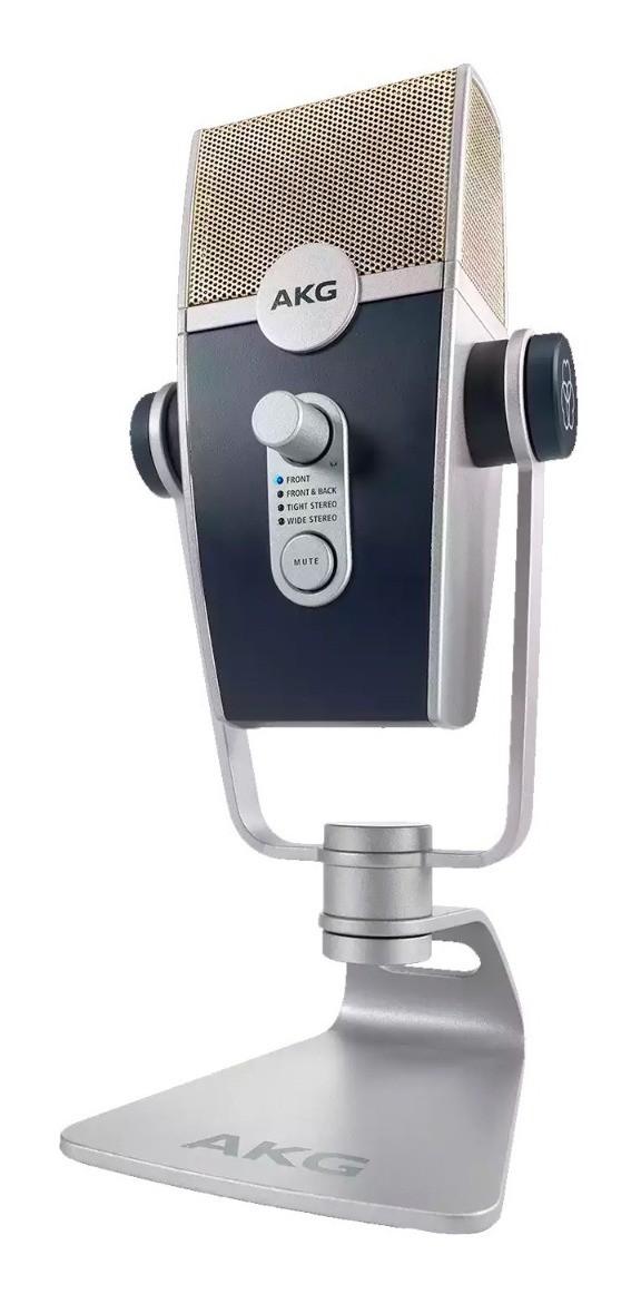 Microfone Consensador Akg Lyra C44-USB Ultra-HD
