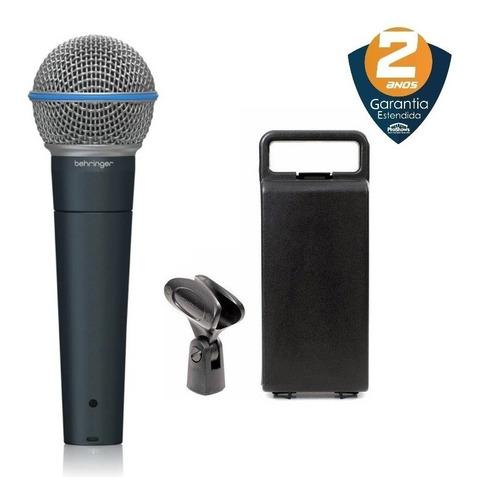 Microfone BA 85A Behringer Super Cardióide C/Fio