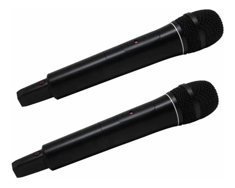 Microfone Lexsen XSL 502 PLL Duplo - UHF Multi-Frequência