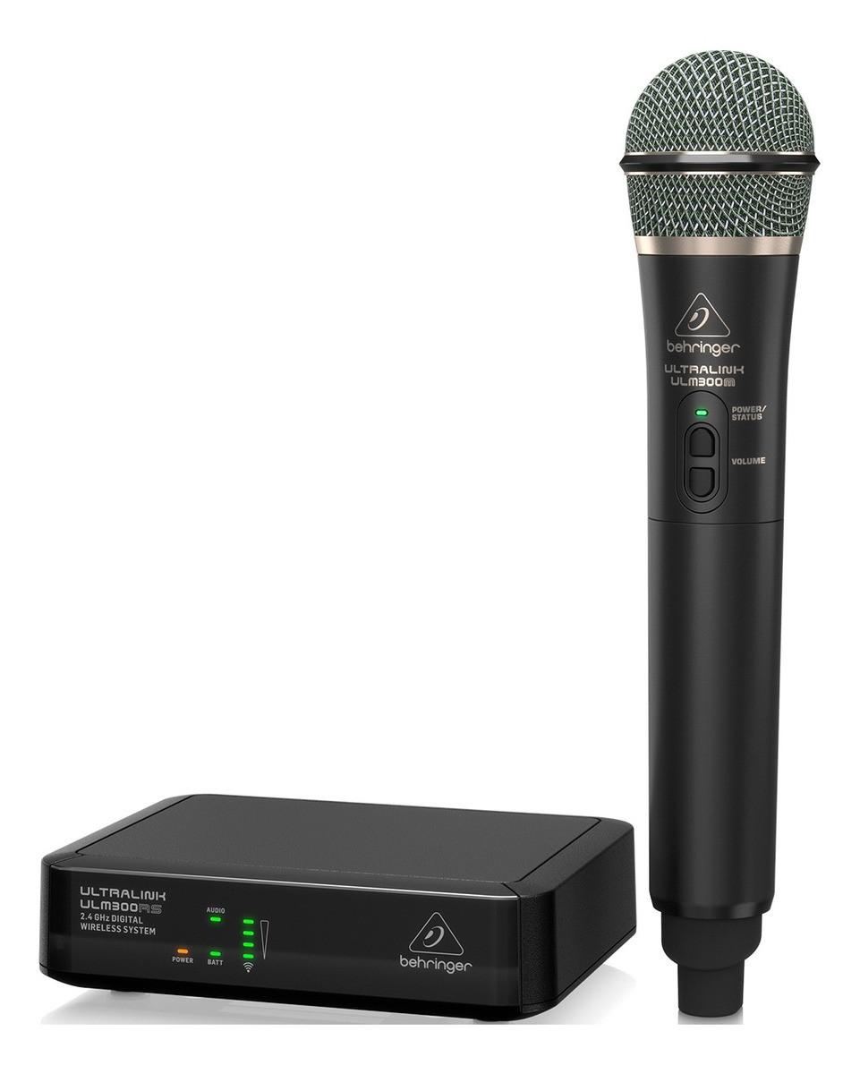 Microfone Sem Fio Digital Behringer ULM300MIC - 2.4Ghz