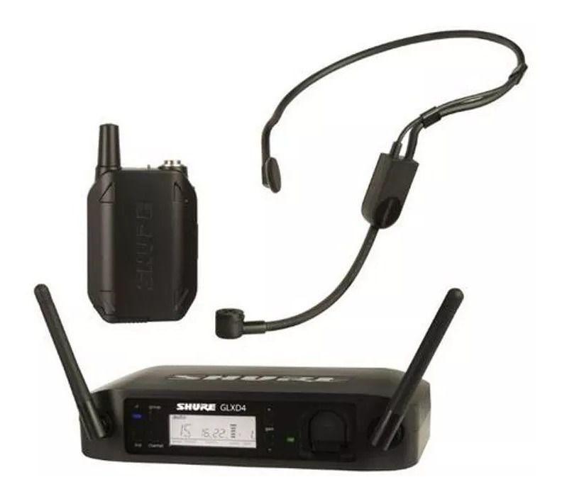 Microfone Sem Fio GLXD14BR/PGA31 Shure